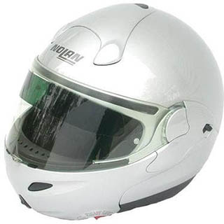 Helmet SunBlocker Side View
